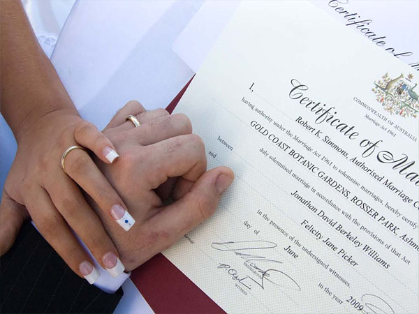 PURPOSE OF MARRIAGE CERTIFICATE